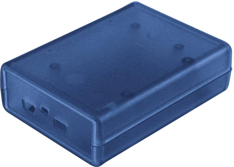 Pouzdro Hammond Electronics 1593HAMFREE2TBU, (d x š x v) 92 x 66 x 28 mm, modrá