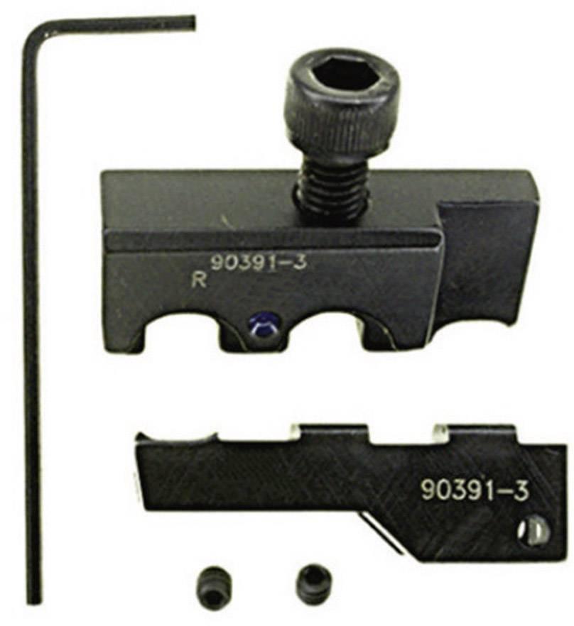 Krimpovací čelisti TE Connectivity 90391-3, 1,25 mm² - 2 mm², černá