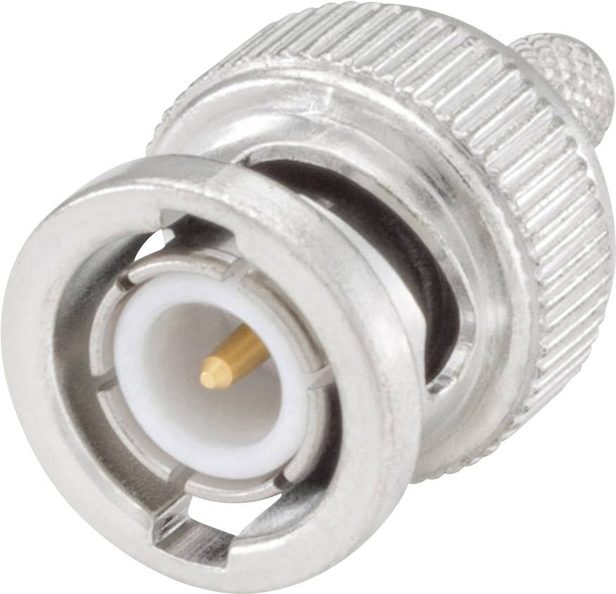 BNC konektor zástrčka, rovná Rosenberger 51S107-108N5, 50 Ohm, 1 ks
