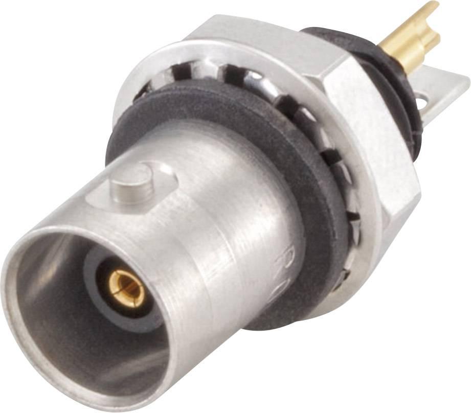 BNC konektor zásuvka, vstavateľná vertikálna Rosenberger 51K553-200N5, 50 Ohm, 1 ks