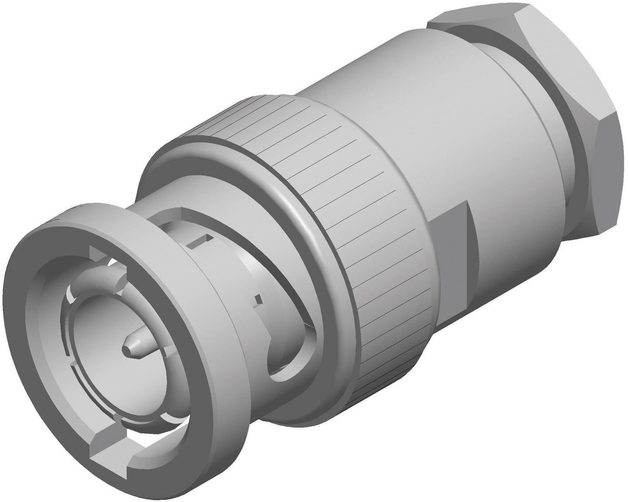 BNC konektor zástrčka, rovná Rosenberger 71S106-009N5, 75 Ohm, 1 ks