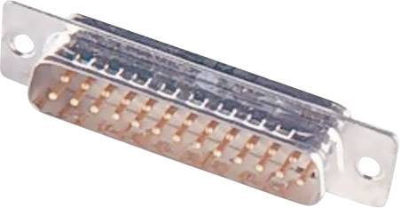 D-SUB kolíková lišta Harting 09 67 209 5604, 180 °, pólů 9, pájecí kalíšek, 1 ks