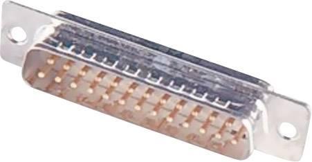 D-SUB zásuvková lišta Harting 09 67 250 4704, 180 °, pólů 50, pájecí kalíšek, 1 ks