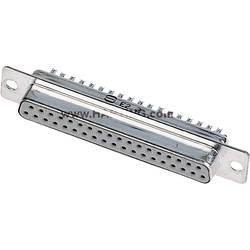 D-SUB zásuvková lišta Harting 180 °, Počet pinov 37, spájkovaný, 1 ks