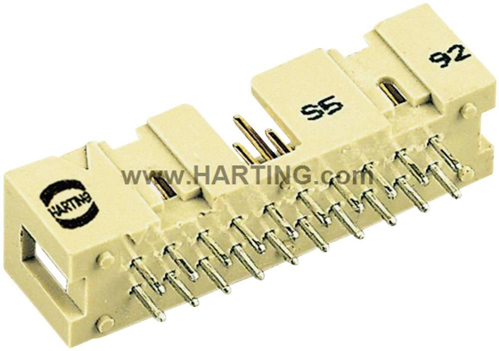 Nožová lišta Harting SEK, počet kontaktov 6, Počet riadkov 2, 1 ks