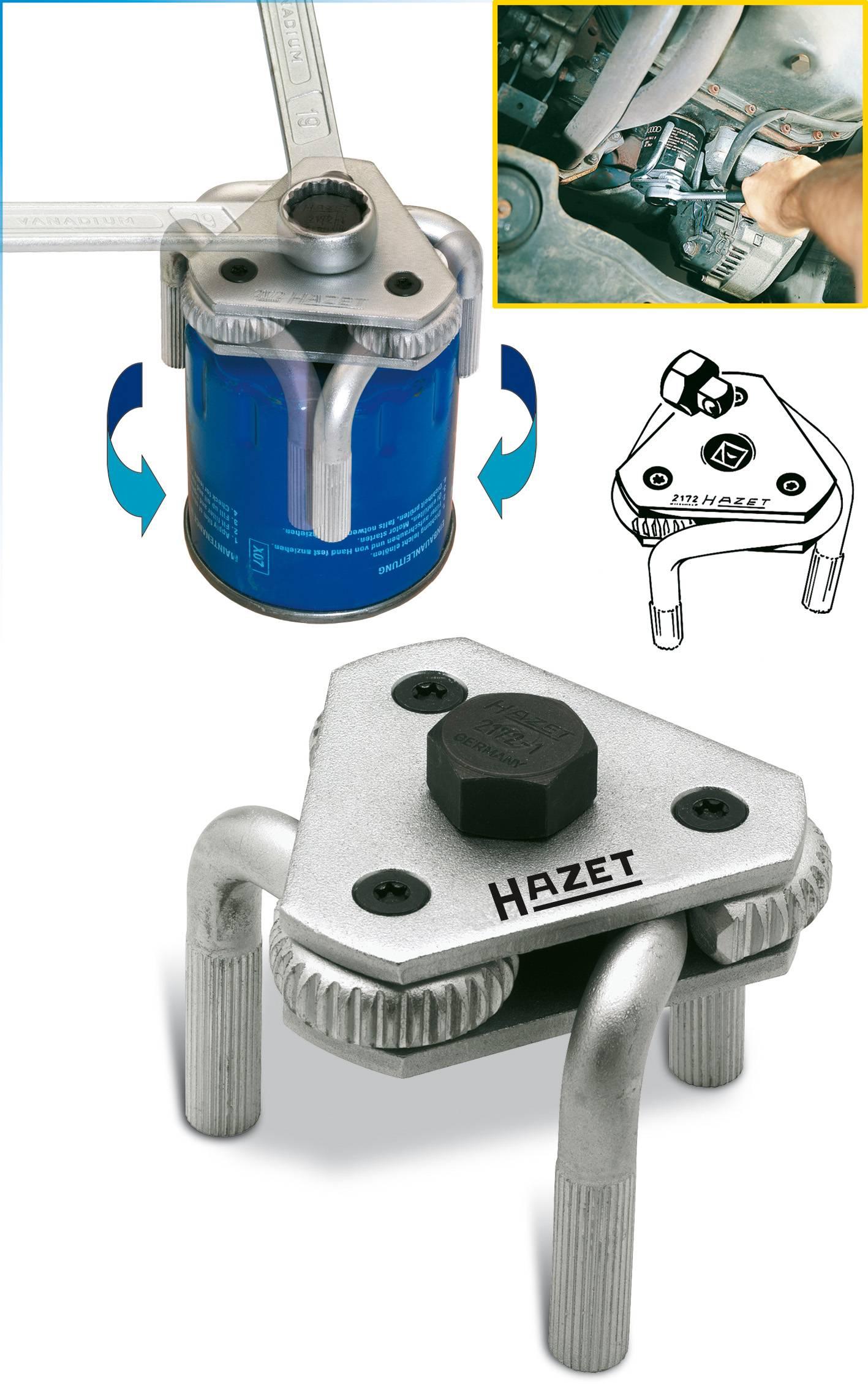 Kľúč na olejový filter Hazet, 2172