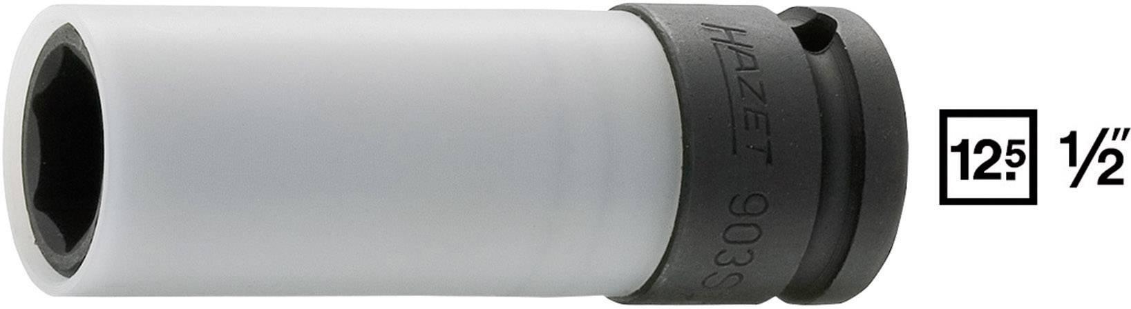 """Silový nástrčný klíč Hazet 15 mm, vnější šestihran, 1/2"""" 903SLG-15"""