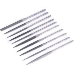 Sada jehlových pilníků průměr 5 mm, 10 ks