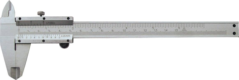 Kapesní posuvné měřítko Bernstein 07-0052, měřicí rozsah 150 mm