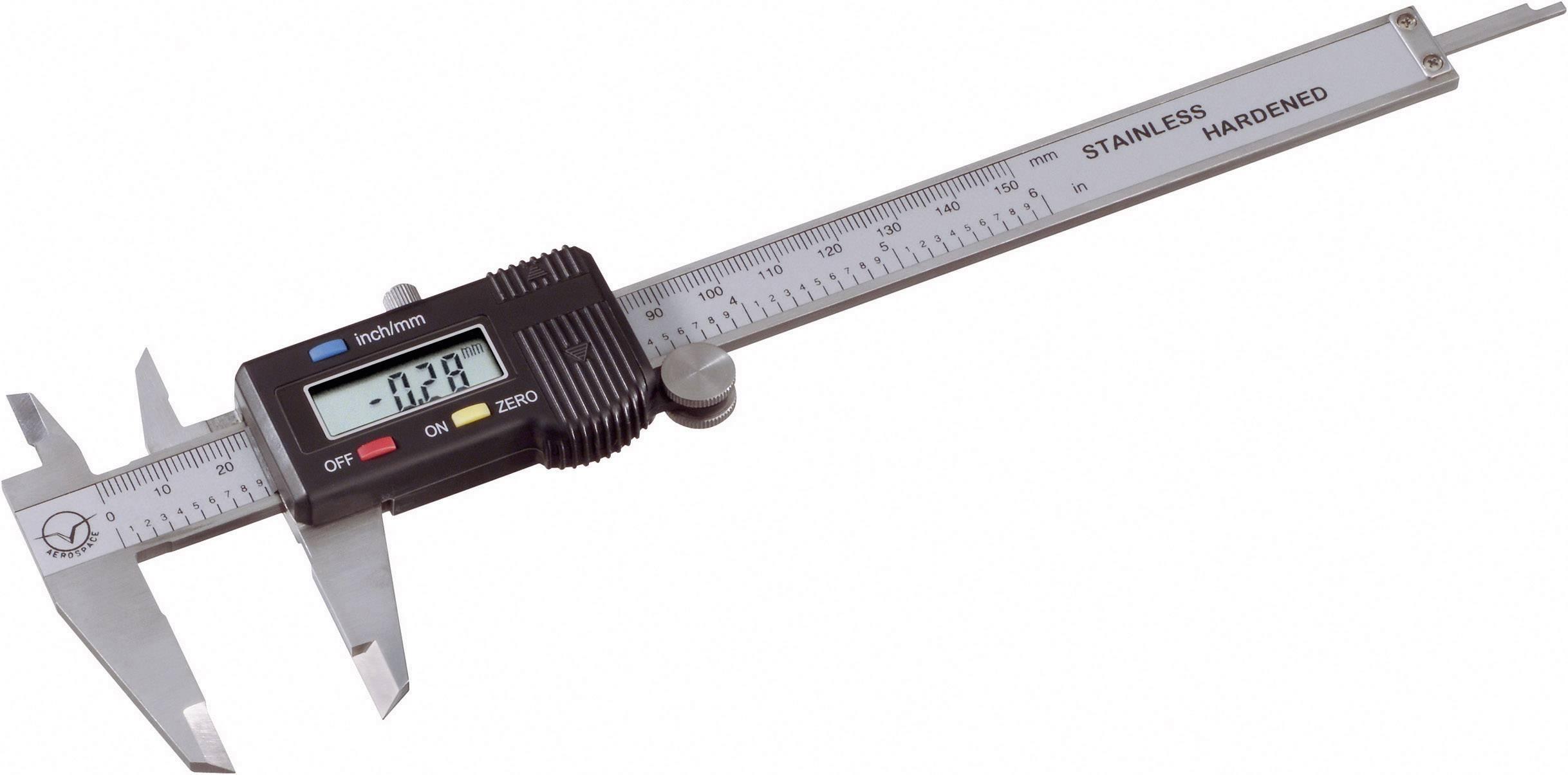 Digitální posuvné měřítko PMS 150 803308, měřicí rozsah 150 mm