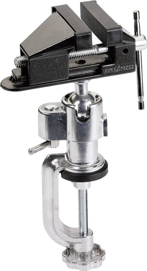 Zverák s guľovým kĺbom, so stolnou svorkou 803898 803898, Rozpätie (max.): 60 mm
