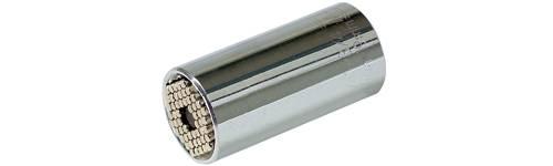 """Chápadlo zásuvka Wiha 09400, vonkajší šesťhran, 3/8"""" (10 mm), 7 mm, 19 mm, oceľ"""