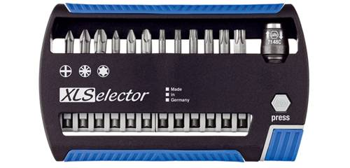 Sada bitov Wiha XSelector, 33663, 13-dielna, chróm-vanadiová oceľ