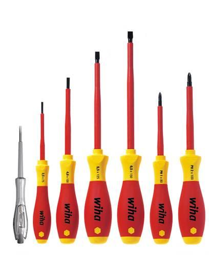 Súprava skrutkovačov VDE Wiha SoftFinish electric 320N K7 00834, 7-dielna