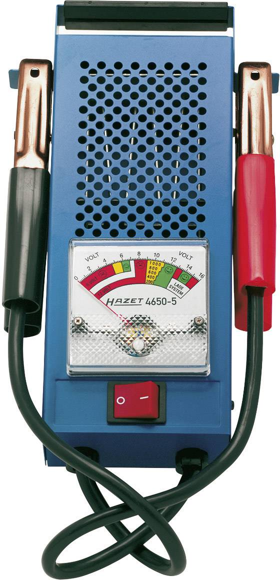 Tester autobatérie Hazet, 4650-5, 6/12 V