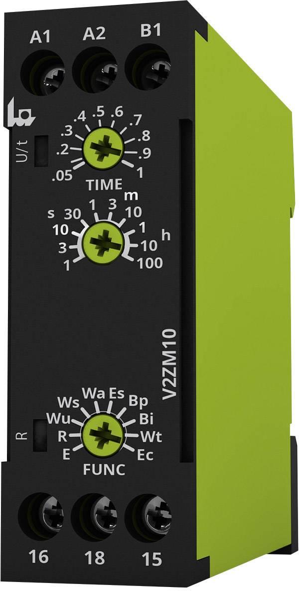 Časové relé multifunkčné tele V2ZM10 12-240V AC/DC 125100, čas.rozsah: 0.05 s - 100 h, 1 prepínací, 1 ks