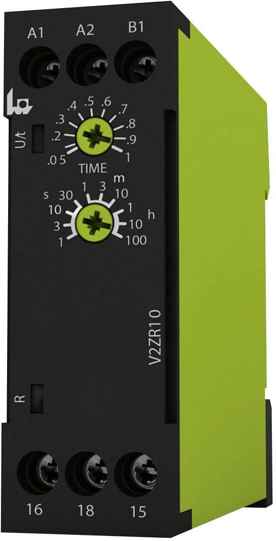 Časové relé monofunkčné tele V2ZR10 24-240V AC/DC 125120, čas.rozsah: 0.05 s - 100 h, 1 prepínací, 1 ks