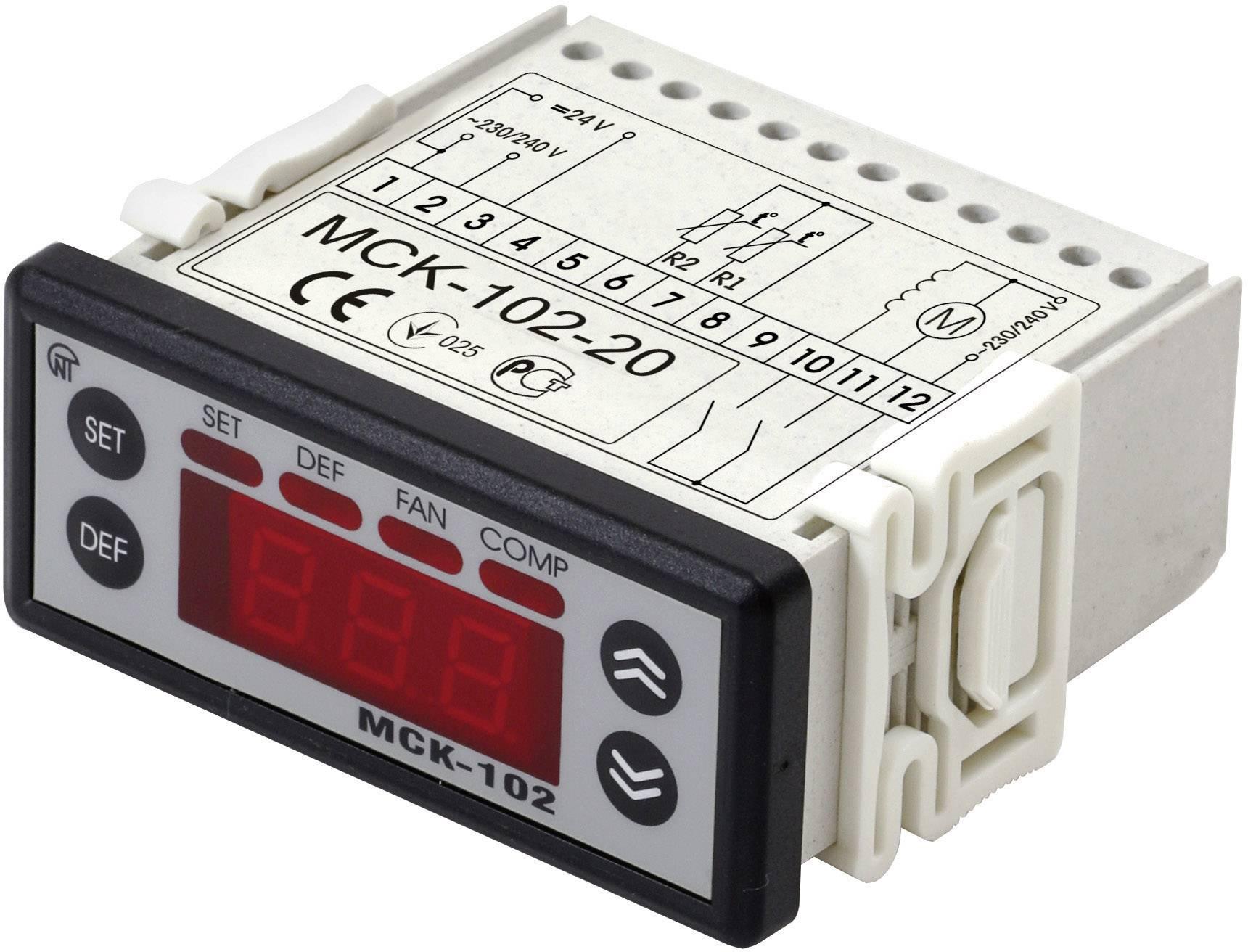 Riadiace relé Novatek MSK-102-2 MSK-102-2, Vstupy merania 2 NTC Sensoren