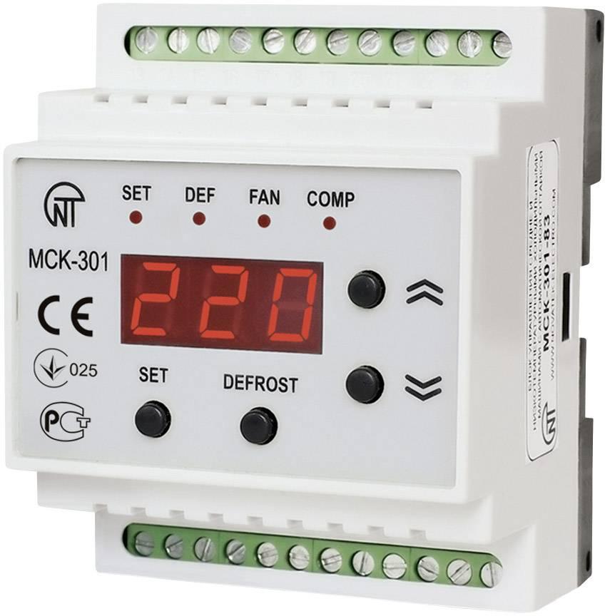 Riadiace relé Novatek MSK-301-8 MSK-301-8, Vstupy merania 4 NTC/PTC sensoren
