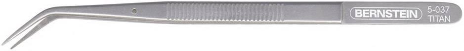 Pinzeta titanová - zahnutá, BERNSTEIN 150 mm, 15 g