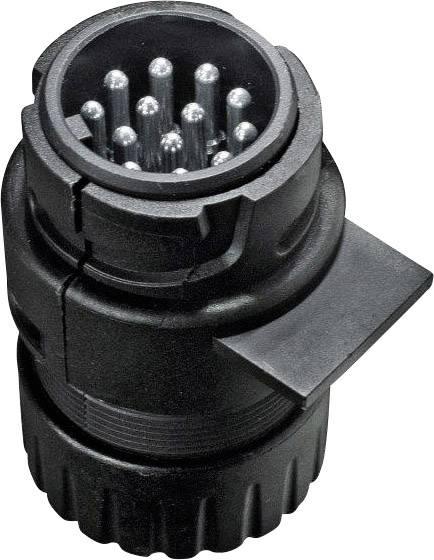 Adaptér pro zapojení přívěsu SecoRüt 30120, [13 pólová zásuvka - 13 pólová zástrčka], 12 V