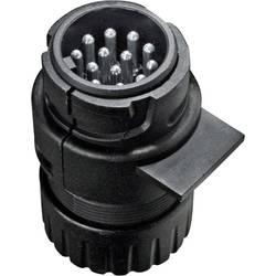 Zástrčka pro zapojení přívěsu SecoRüt 30120, [13 pólová zásuvka - 13 pólová zástrčka], 12 V, plast ABS