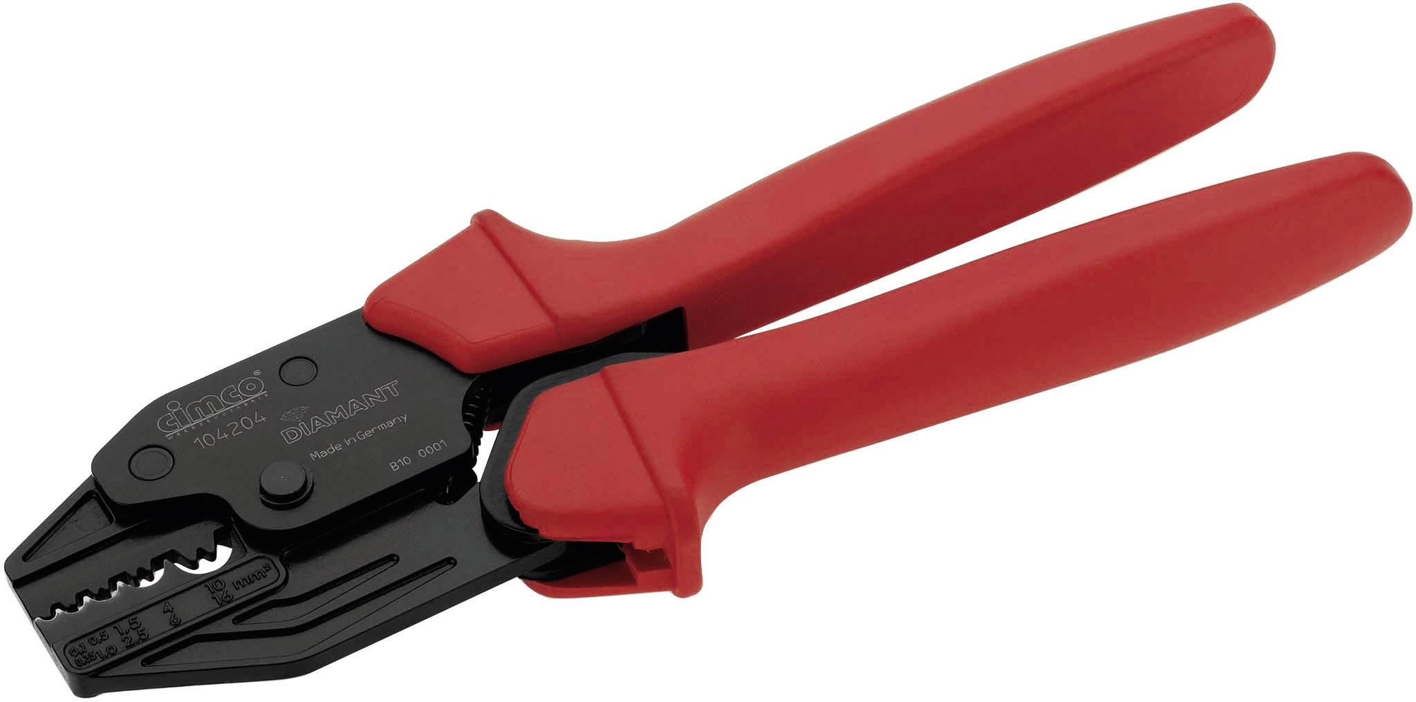 Lisovací kleště Cimco 104204, 0.1 až 16 mm²