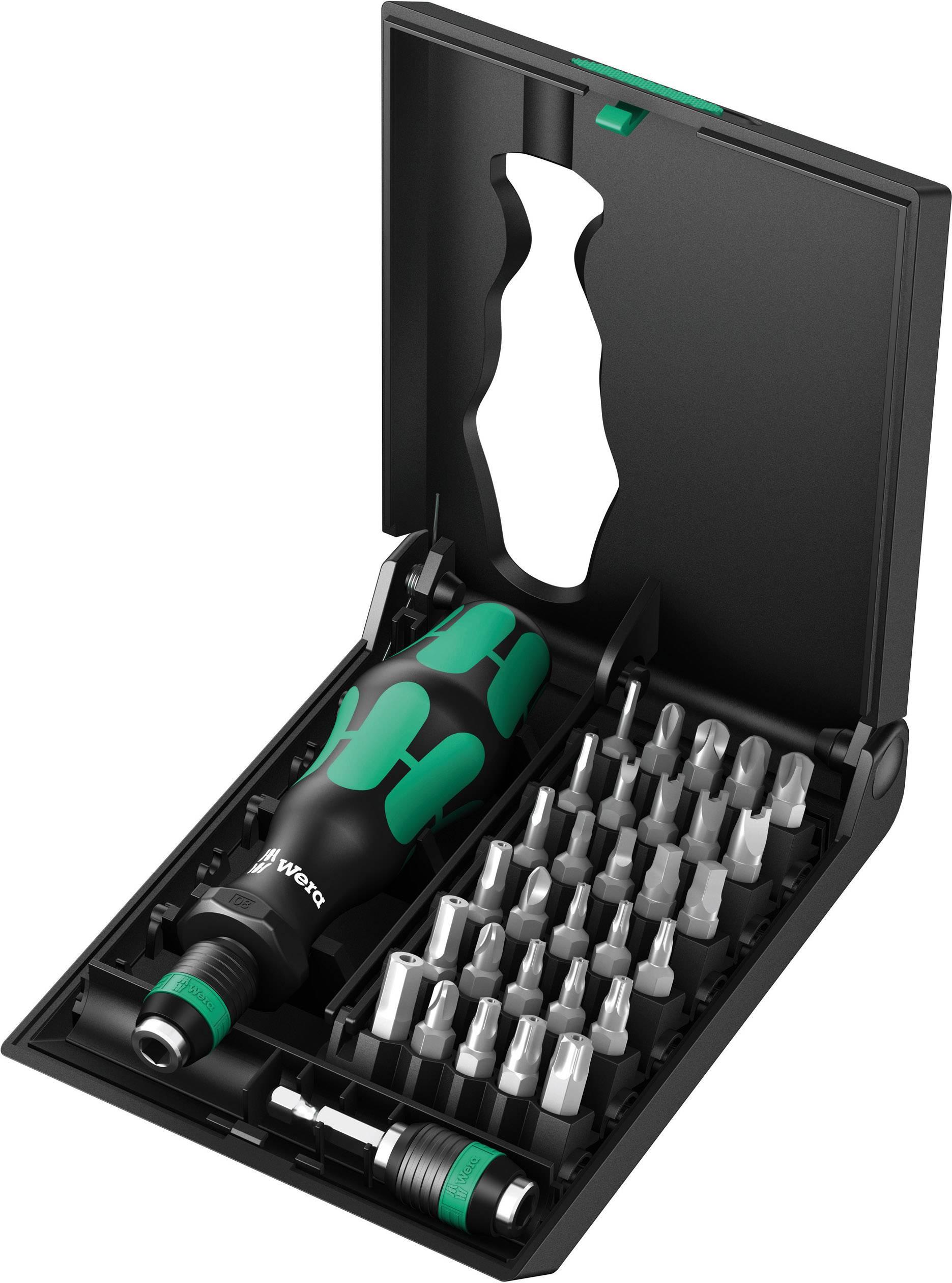 Sada bitov Wera Kraftform Kompakt 71 Security, 05057111001, 32-dielna, nástrojová oceľ