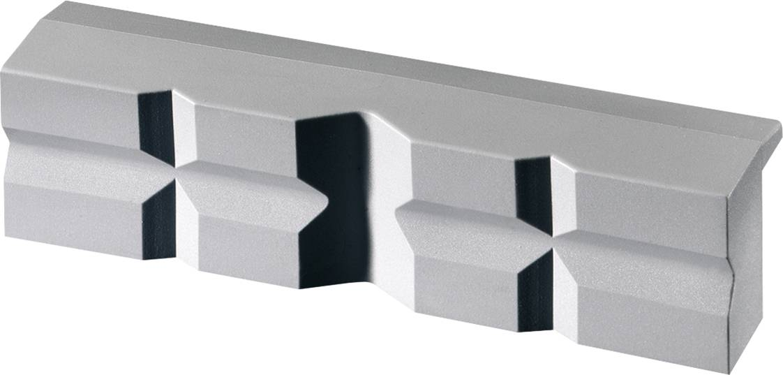 Magnetické čelisti s prizmou Heuer 108140, 140 mm, polyuretan, 2 ks
