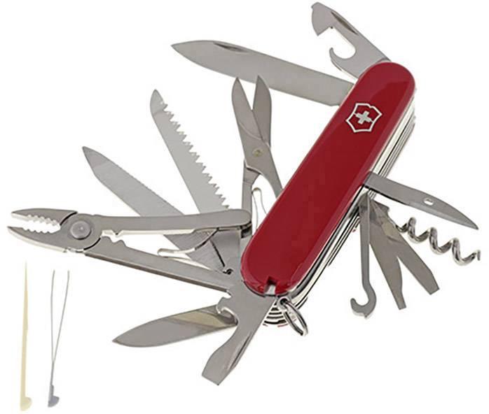 Vreckový nôž Victorinox Majstor 1.3773, červená