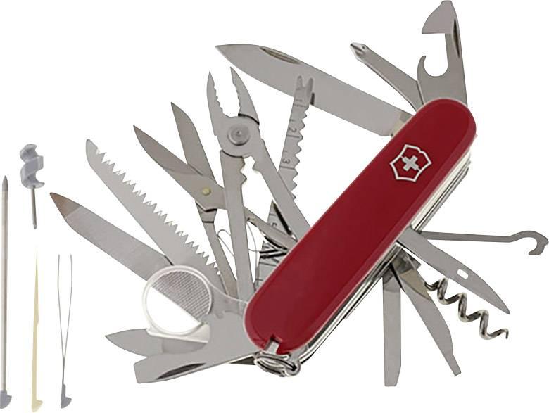 Švajčiarsky vreckový nožík Victorinox SwissChamp 1.6795, červená