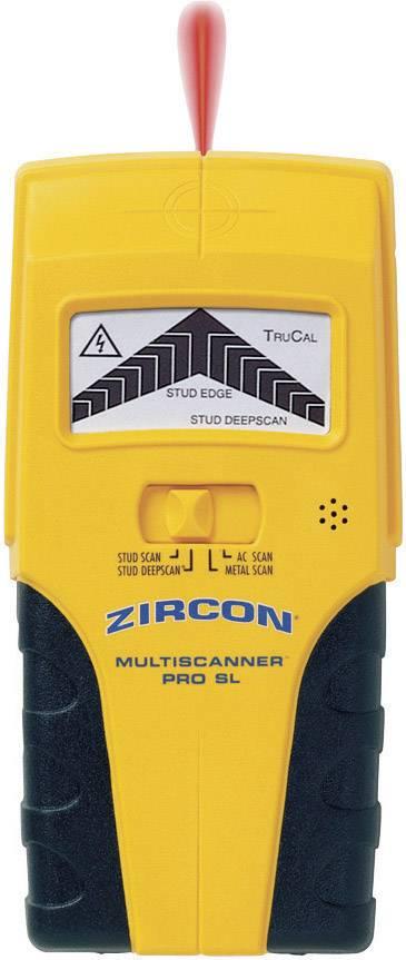 Detektor kovů a elektrického vedení Zircon MultiScanner Pro SL 62120, hloubka detekce 76 mm