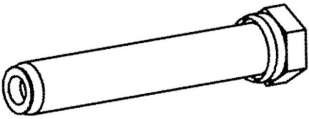 Nadstavec na spájkovaciu špičku Weller Professional T0051031199, 1 ks