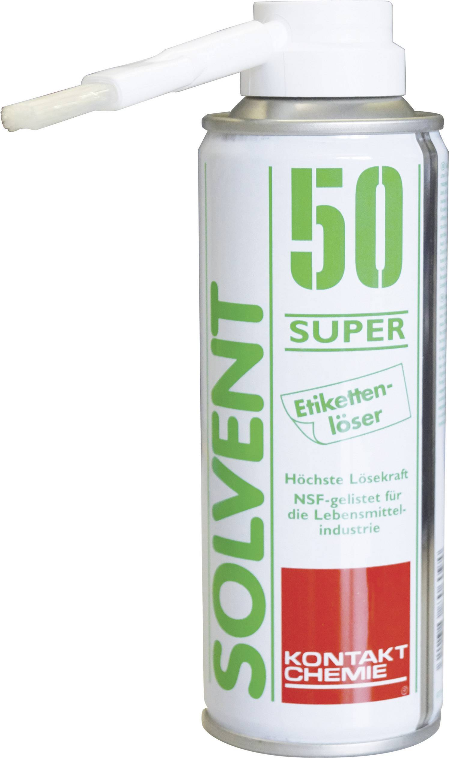 Rozpouštěcí odstraňovač etiket CRC Kontakt Chemie SOLVENT 50 SUPER 80609-DE, 200 ml