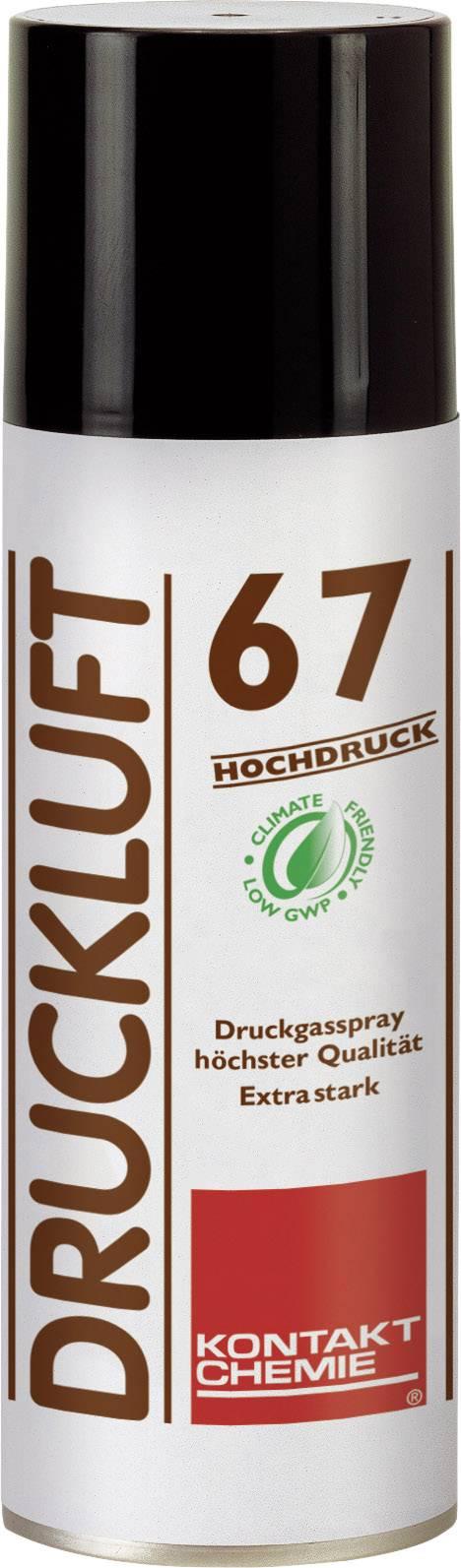 Sprej so stlačeným vzduchom nehorľavý CRC Kontakt Chemie DRUCKLUFT 67 HOCHDRUCK 33165-DE, 340 ml