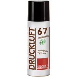 Sprej so stlačeným vzduchom nehorľavý Kontakt Chemie DRUCKLUFT 67 HOCHDRUCK 33165-DE, 340 ml