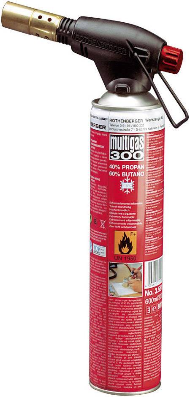 Plynová spájkovačka Rothenberger Industrial ROFIRE, 1950 °C, 240 min + piezozapaľovač