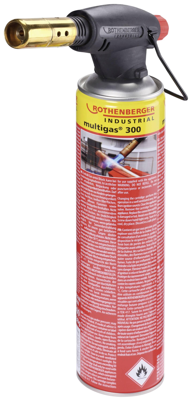 Plynová spájkovačka Rothenberger ROFIRE, 1950 °C, 240 min + piezozapaľovač