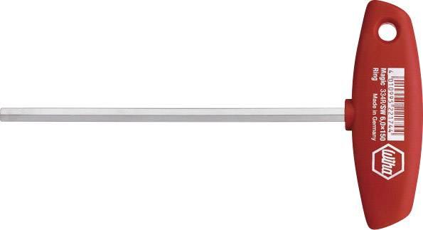 T inbusový skrutkovač Wiha 334 2,5 X 100 00906, chróm-vanadiová oceľ, 2.5 mm, 1 ks