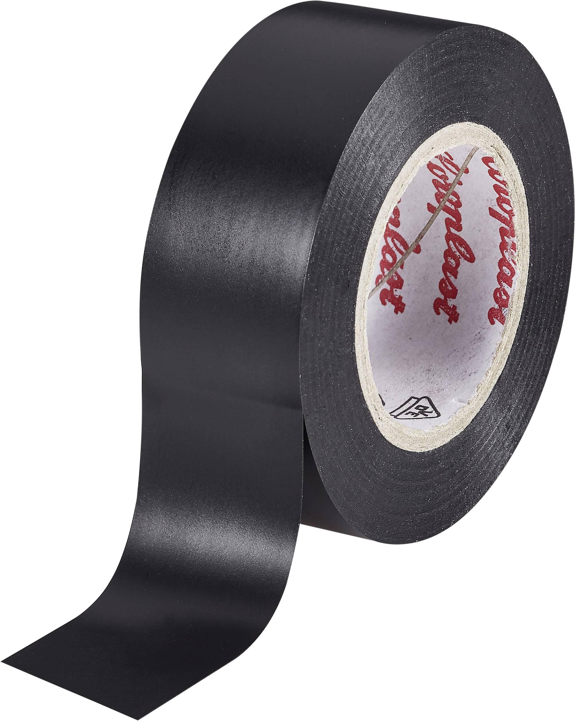 PVC tape Coroplast 302, (d x š) 25 m x 19 mm, čierna, 1 roliek