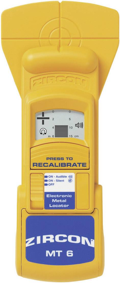 Detektor kovov Zircon MT6 Metalli Scanner PRO