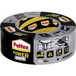 Páska so skleným vláknom Pattex PT5SW, (d x š) 50 m x 50 mm, kaučuk, strieborná, 50 m