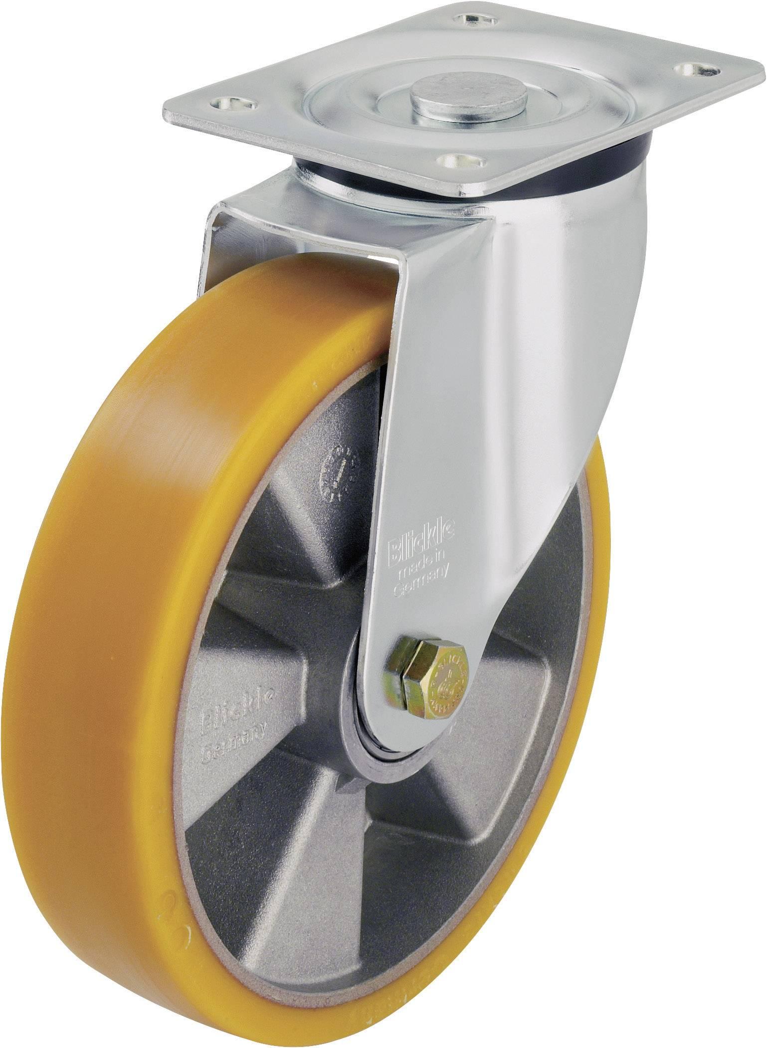 Otočné kolečko s konstrukční deskou, Ø 125 mm, Blickle 265777, LK-ALTH 125K-1
