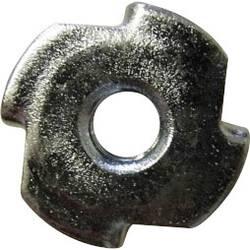 Zatĺkacia matica TOOLCRAFT 812888, M5, N/A, ocel, 100 ks