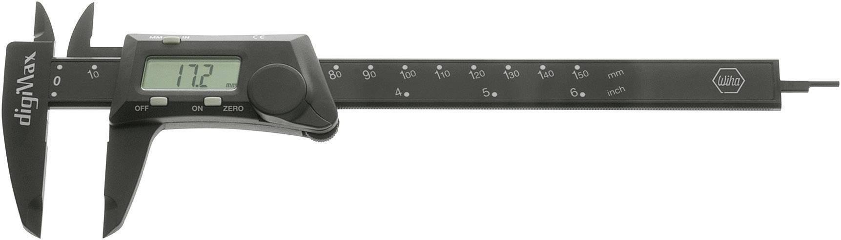 Digitální posuvné měřítko Wiha DigiMax 29422, měřicí rozsah 150 mm