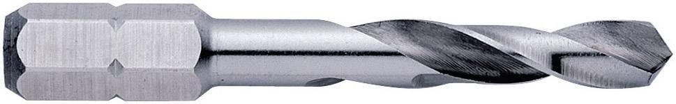 HSS kovový špirálový vrták Exact 05953, 6 mm, 50 mm, DIN 3126, 1 ks