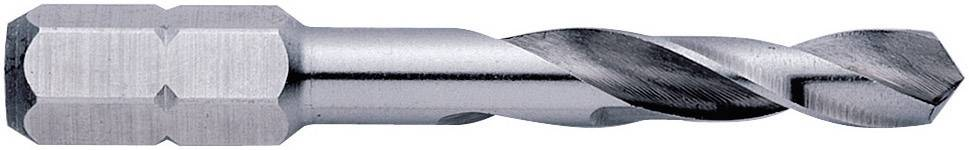 HSS kovový špirálový vrták Exact 05963, 10.2 mm, 54 mm, DIN 3126, 1 ks