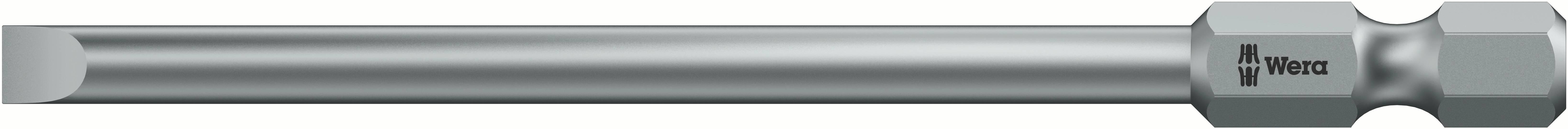 Plochý bit Wera 800/4 Z;4 mm 05059480001, nástrojová oceľ, 1 ks