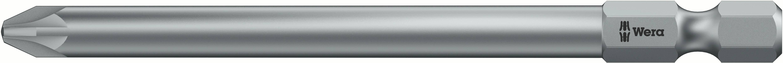 Predĺžený krížový bit Wera 855/4 Z PZ 1 x 89 mm 05060029001, nástrojová oceľ, 1 ks