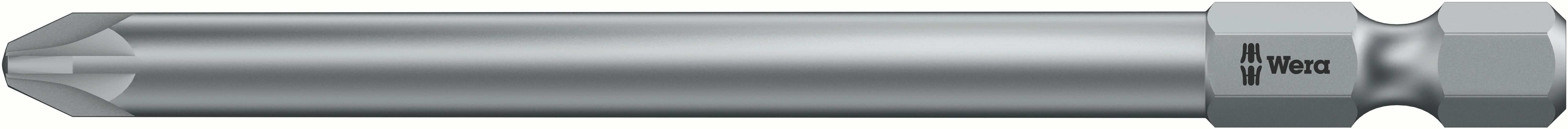Predĺžený krížový bit Wera 855/4 Z PZ 2 x 89 mm 05060035001, nástrojová oceľ, 1 ks